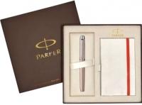 Письменный набор Parker IM Premium Metallic Pink CT 1910298 -