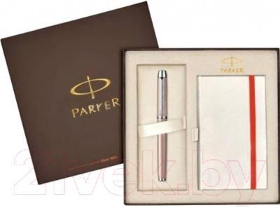 Письменный набор Parker IM Premium Metallic Pink CT 1910298