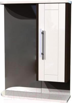 Шкаф с зеркалом для ванной Asomare Атра 60 (21.35)