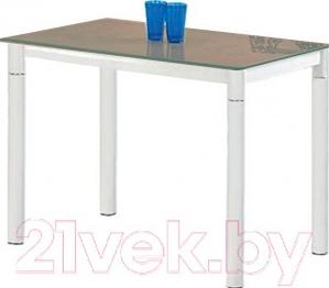 Обеденный стол Halmar Argus (бежево-белый)