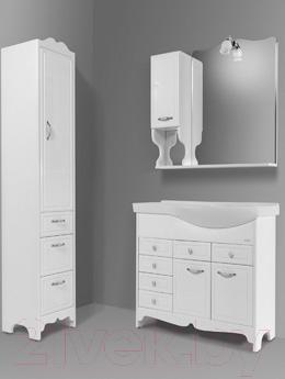 Шкаф с зеркалом для ванной Asomare Кантри 90 (34.03)