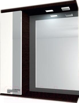 Шкаф с зеркалом для ванной Asomare Мокка 65 (35.25)