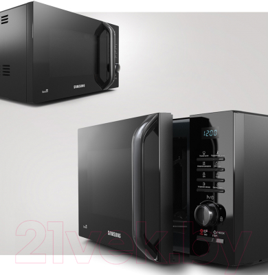 Микроволновая печь Samsung MS23H3115QK/BW - презентационное фото 1