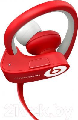Наушники-гарнитура Beats Powerbeats 2 Wireless / MHBF2ZM/A (красный)