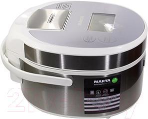 Мультиварка Marta MT-1978 (белый/сталь)
