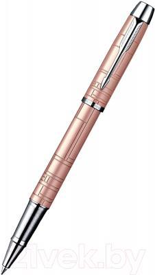Ручка-роллер Parker IM Premium Metallic Pink CT S0949770