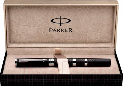 Ручка капиллярная Parker Ingenuity Large Black Rubber and Metal CT S0959170 - упаковка