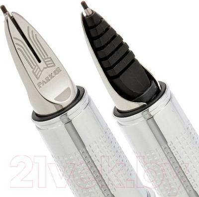 Ручка капиллярная Parker Ingenuity Large Black Rubber CT S0959190 - пишущий узел