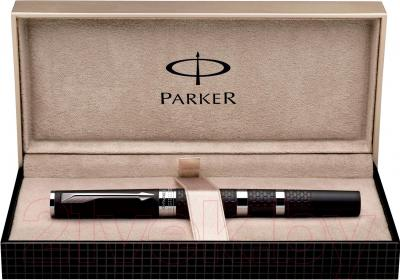 Ручка капиллярная Parker Ingenuity Large Brown Rubber and Metal CT S0959180 - упаковка