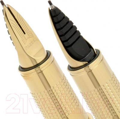 Ручка капиллярная Parker Ingenuity Slim Black Rubber PGT S0959060 - пишущий узел