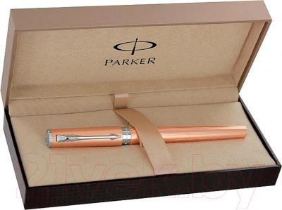 Ручка шариковая Parker Ingenuity Slim Pink Gold PVD CT S0959080 - коробка