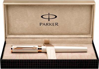Ручка капиллярная Parker Ingenuity Slim Pearl PGT S0959050 - коробка