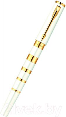 Ручка капиллярная Parker Ingenuity Slim Pearl and Metal GT 1858536
