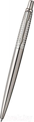 Ручка шариковая Parker Jotter Classic Stainless Steel Chiselled S0908840