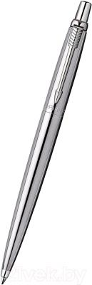 Ручка шариковая Parker Jotter Stainless Steel S0705560