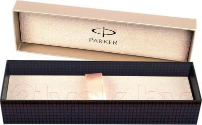 Ручка шариковая Parker Sonnet 07 Matte Black Slim GT S0818030 - коробка
