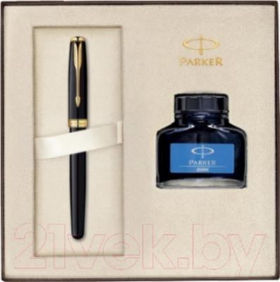 Письменный набор Parker Sonnet 07 Matte Black GT 1910427