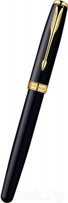 Ручка перьевая Parker Sonnet 07 Matte Black GT S0817930