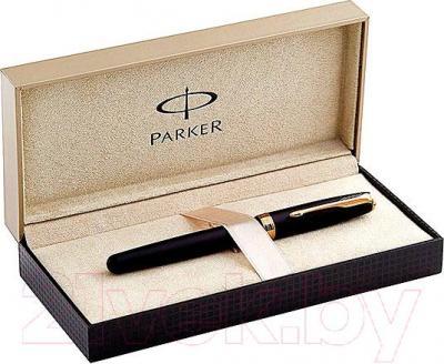 Ручка-роллер Parker Sonnet 07 Matte Black GT S0817970 - коробка