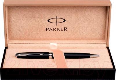 Ручка шариковая Parker Sonnet 07 Matte Black Slim СT S0818170 - коробка