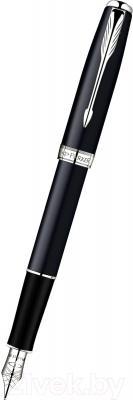 Ручка перьевая Parker Sonnet 07 Matte Black СT S0818070