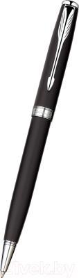 Ручка шариковая Parker Sonnet 07 Matte Black СT S0818140
