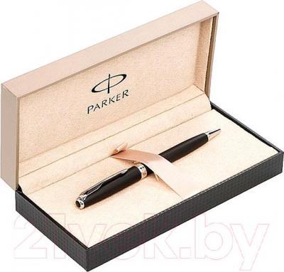 Ручка шариковая Parker Sonnet 07 Matte Black СT S0818140 - коробка