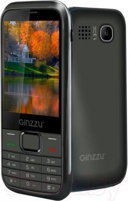 Мобильный телефон Ginzzu M108 Dual (серый)