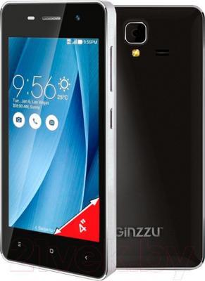 Смартфон Ginzzu S4010 (черный)