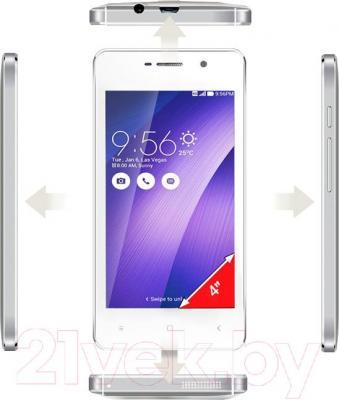 Смартфон Ginzzu S4010 (белый)
