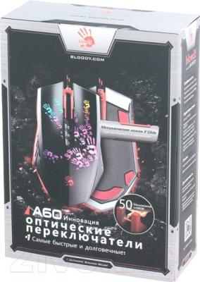 Мышь A4Tech Bloody A60 - упаковка