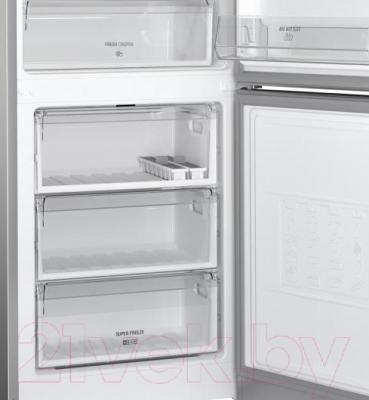 Холодильник с морозильником Hotpoint HF 4181 X
