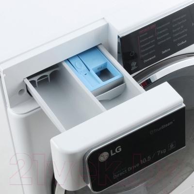 Стирально-сушильная машина LG F14U1JBH2N