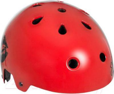 Защитный шлем Powerslide Ennui Elle Lips S-M 920048 - вид спереди