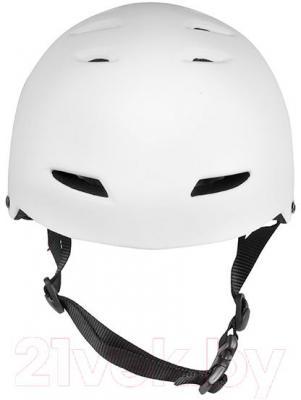 Защитный шлем Powerslide Ennui BCN Basic L-XL 920052 (белый) - вид спереди
