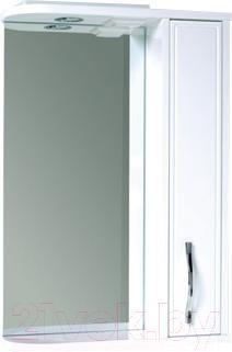 Шкаф с зеркалом для ванной Asomare Сильвер 50 (39.13)