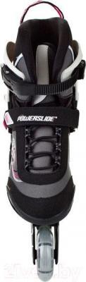 Роликовые коньки Powerslide Phuzion Gamma Pure 940137 (размер 41) - вид спереди