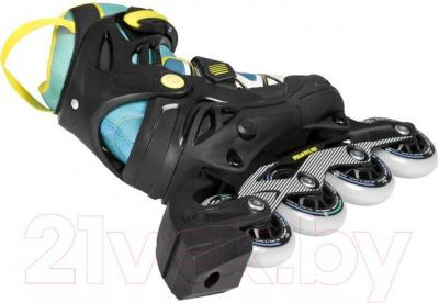 Роликовые коньки Powerslide Phuzion Orbit 940188 (синий, размер 27-30)