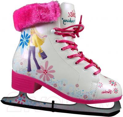 Коньки фигурные Powerslide Barbie Broudway 990003 (размер 39)
