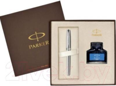 Письменный набор Parker Sonnet 07 Stainless Steel CT 1910426