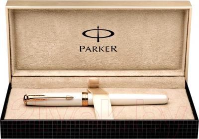 Ручка капиллярная Parker Sonnet 11 Pearl PGT S0975990 - коробка
