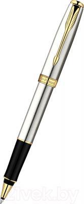 Ручка-роллер Parker Sonnet 07 Stainless Steel GT S0809130