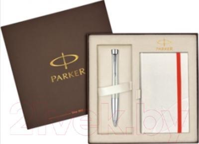 Письменный набор Parker Urban Premium Pearl Metal Chiselled 1910299