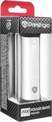 Портативное зарядное устройство Prestigio PBC0426WH