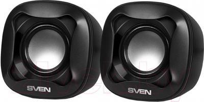 Мультимедиа акустика Sven 170 (черный) - общий вид