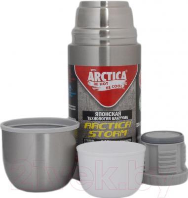 Термос для напитков Арктика 105-500N - крышка-стакан