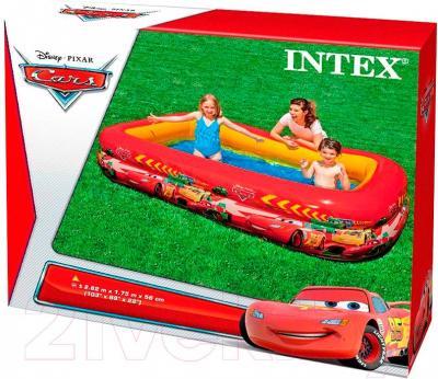 Надувной бассейн Intex Тачки 57478NP