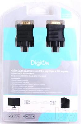 Кабель VGA DigiOn PTV107018