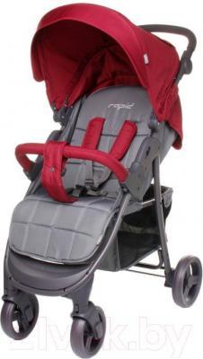 Детская прогулочная коляска 4Baby Rapid 2016 (красный)