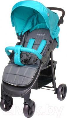 Детская прогулочная коляска 4Baby Rapid 2016 (бирюзовый)